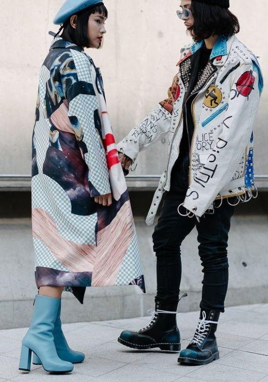 Seoul Fashion Week 2017 Couple Look